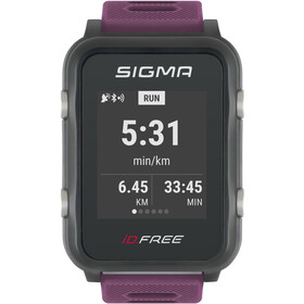 SIGMA SPORT iD.FREE Multi-Sport Watch, plum